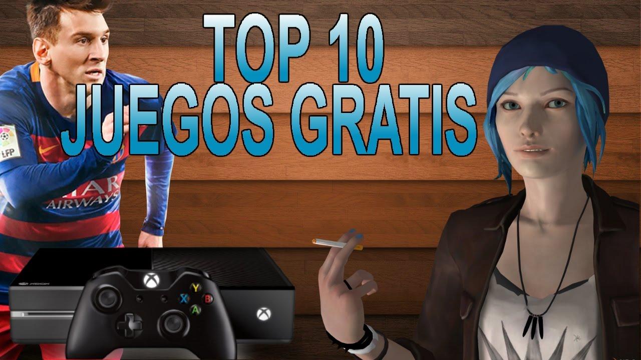 Top 10 Mejores Juegos Gratis Para Xbox One 2018 Youtube