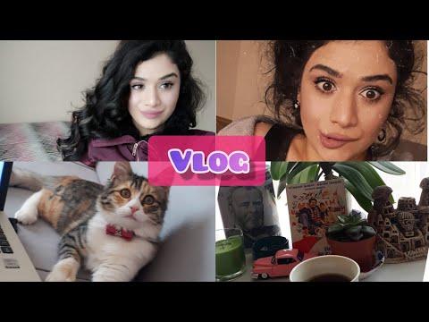 Vlog Yeni Iş / Saçlarımı Nasıl Yapıyorum / Sizi çok özledim.☺️