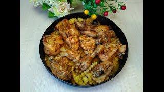 Отличный Вариант Вкусного Обеда!  Картошка с курицей