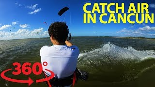 Rip through the waters of Cancun with kiteboarding masters in VR thumbnail