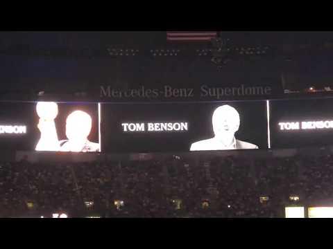 Tom Benson Tribute New Orleans Saints