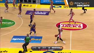 Perth Wildcats 72 def by. Sydney Kings 77 Highlights - 6 December 2018