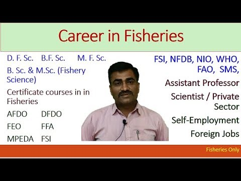 Career In Fisheries