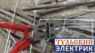 видео Монтаж кабельных лотков в Москве
