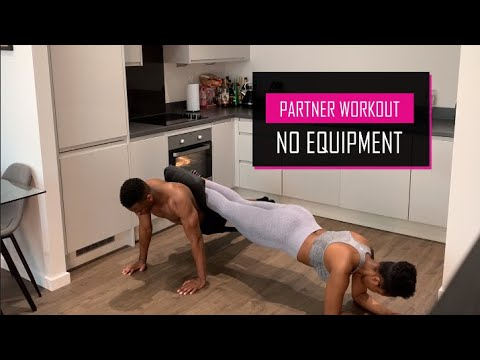 no equipment partner workout  using only your partners