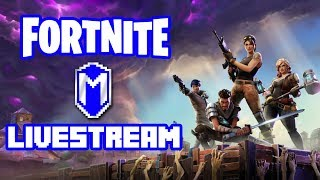 Fortnite Livestream - Getting Started - Let's Play Fortnite Gameplay