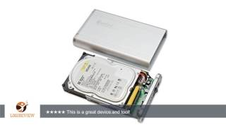 Connectland USB 2.0 External Enclosure for 3.5-Inch SATA/IDE Hard Drive CL-ENC35008 | Review/Test
