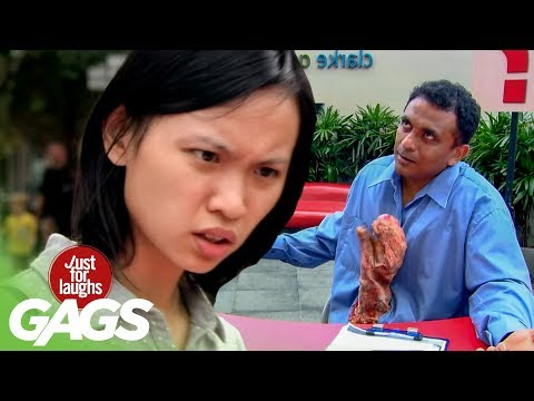 Intestine Comes Out Of Man's Stomach - JFL Gags Asia Edition