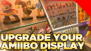 Building a VERY NICE Amiibo Display Shelf & Talking about YOUR Options