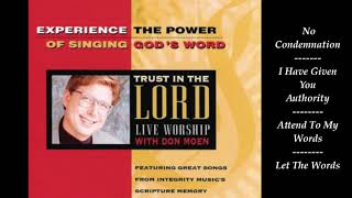 DON MOEN ~ TRЏST IN THE LORD LIVE WORSHIP ALBUM - PART I - 1994
