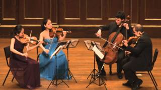 "Haydn String Quartet No. 62, Op. 76 No. 3 ""Emperor"" (2nd mov) Veridis Quartet (Live performance)"