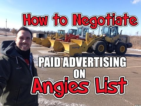 How to Negotiate on Angies List
