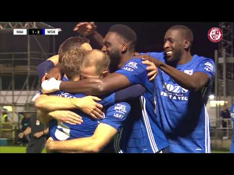 Maidenhead Woking Goals And Highlights