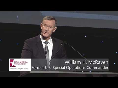 Chancellor McRaven Addresses TexMed 2017 Physicians