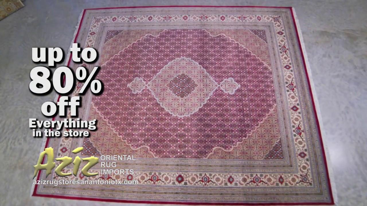 Aziz Oriental Rug Imports Rug Store In San Antonio Tx