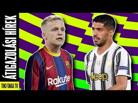 Barca: Van de Beek lehet Koeman első igazolása? Luis Suárezt a Juventus és az Ajax is vinné?