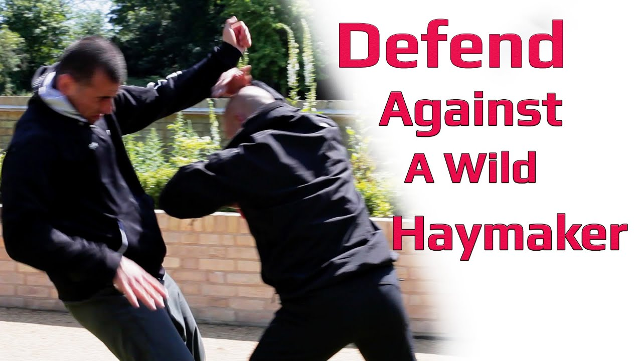how to defend against wild punches