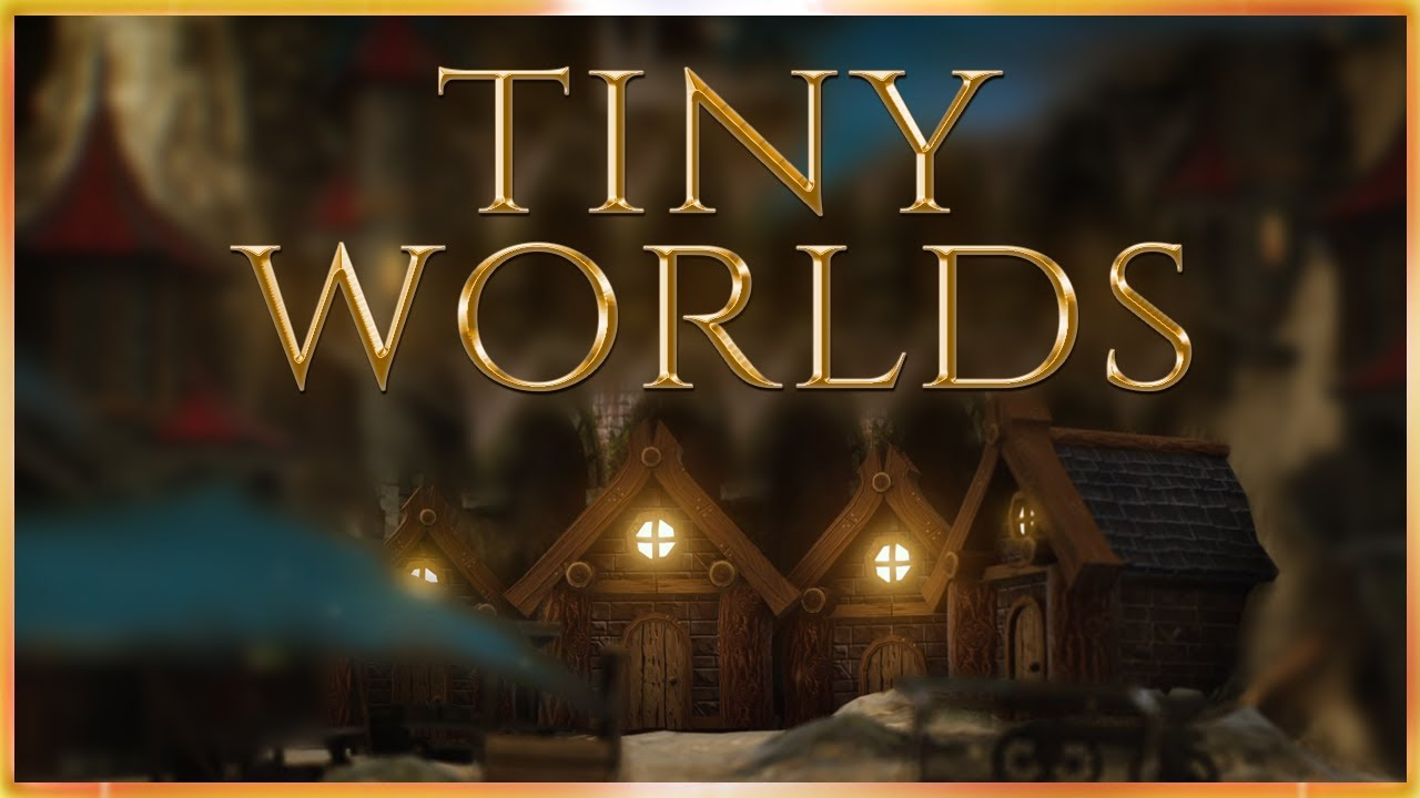 Tiny Worlds ✨ [Announcement Trailer] Original Fantasy Ambience Series
