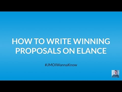 How to Write Winning Job Proposals on Upwork, Elance, oDesk