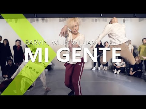 [ Master Class ] J Balvin, Willy William - Mi Gente Ft. Beyoncé / PK WIN Choreography.
