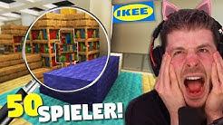 50 Spieler müssen sich im Minecraft IKEA verstecken! Unmöglich alle zu finden weil ich dumm bin