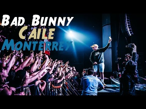 Bad Bunny - Caile - En Vivo (Escena Monterrey 2017)