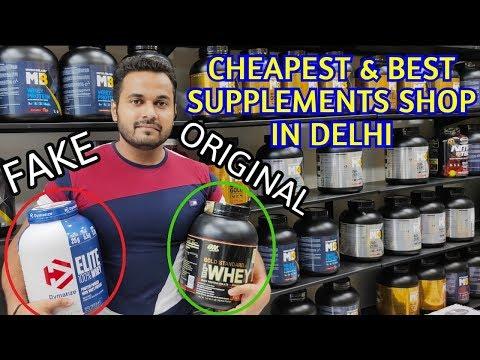 Cheapest & Best Supplements Store In Delhi Full Vlog By Gdx Vines