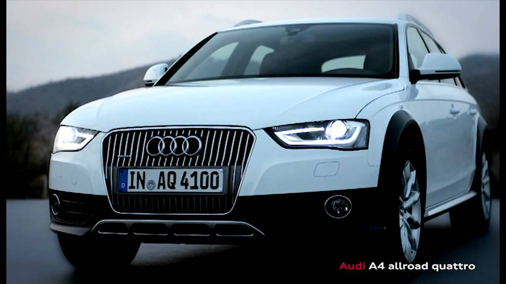 Audi A4 2 0 T Quattro >> 2012-2013 Ibis White Audi A4 allroad quattro - YouTube