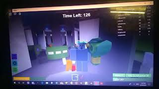 My first video of roblox(Zombie rush) by Rewanmine.