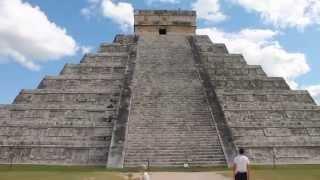Чичен-Ица, Мексика. Пирамида Кукулькана(На руинах древнего города майя... Стоя перед пирамидой и хлопнув в ладоши, получается какой-то странный звук,..., 2014-11-29T12:40:02.000Z)
