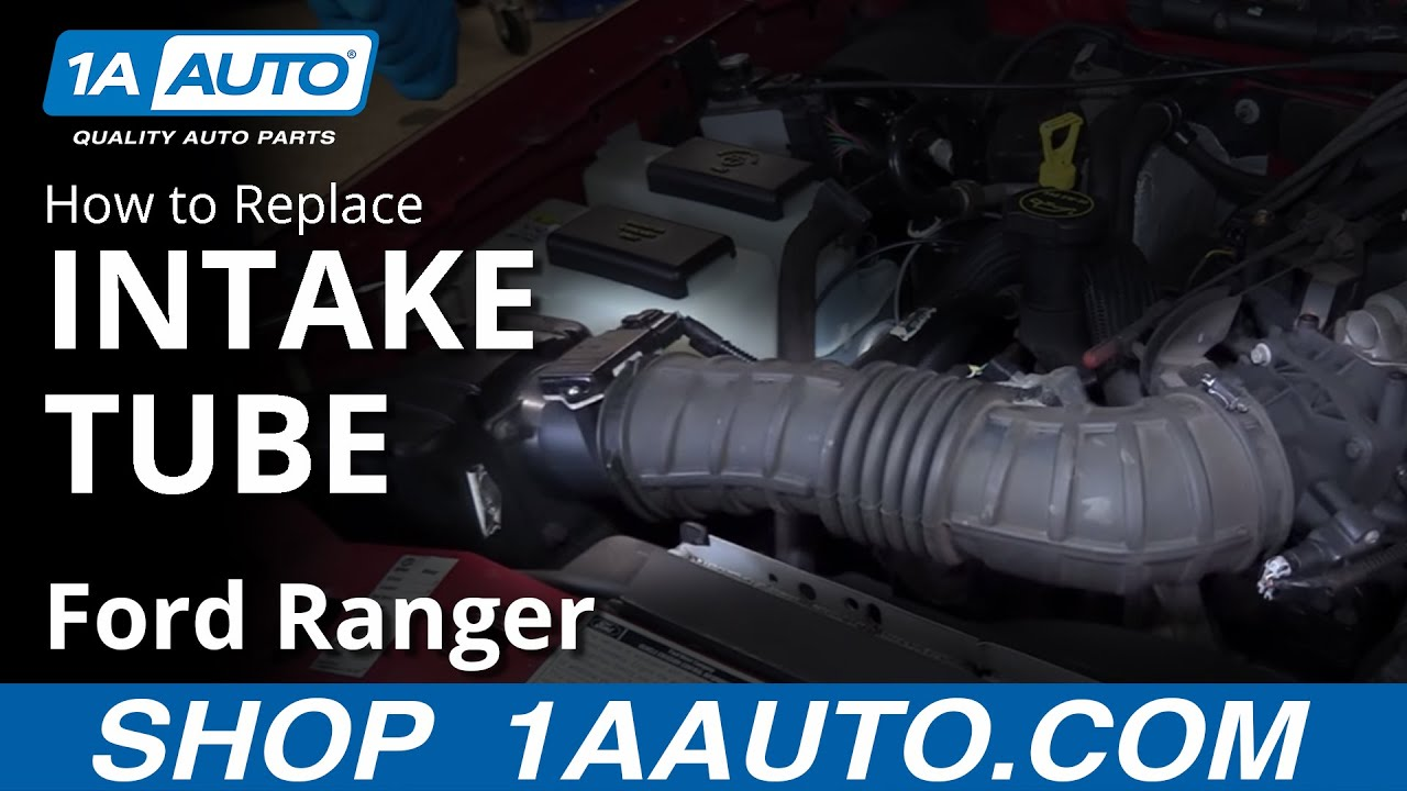 How To Install Replace Intake Tube 2001 Ford Ranger 40l V6 Youtube 2008 4 0 Engine Diagram