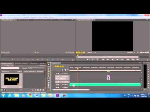 Karaoke con Premiere CS6 Video