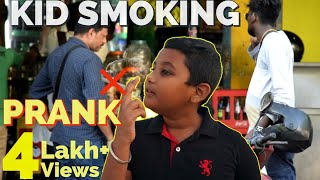KID Smoking PRANK !!!    8 Year Old Kid in Chennai    Pongal Vadai Prank Show