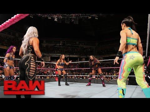Fatal 5-Way Match - Winner Faces Asuka at WWE TLC: Raw, Oct. 9, 2017