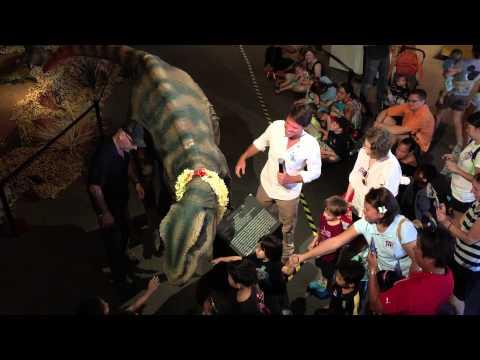 Nalala the Dinosaur at Bishop Museum 14Jun15