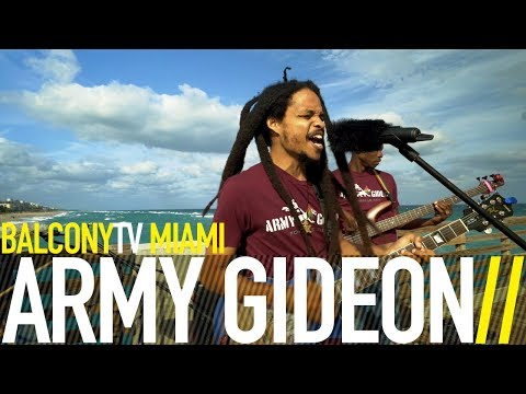 ARMY GIDEON - WE AH AFRICAN (BalconyTV)