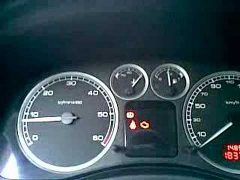 Peugeot 307 Engine Coolant Temp Too High Youtube