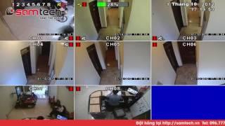 Camera giấu kín quay lén lắp trong nhà Vệ sinh quán Cafe HN