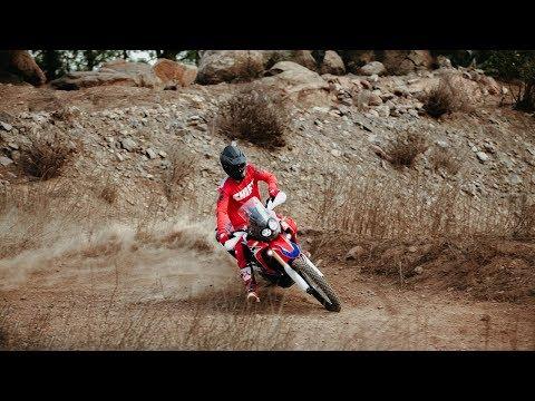 CRF Rally. Honda Canarias.