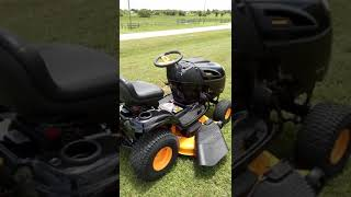 Poulan Pro 20HP 46in cut CVT Transmission REVIEW