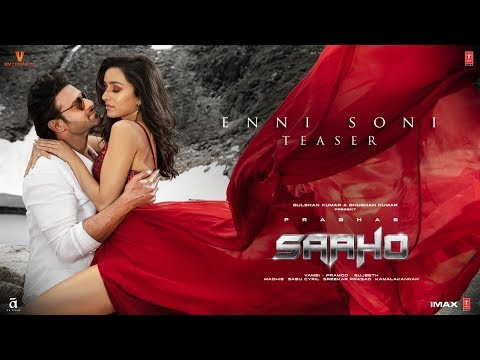 Enni Soni Video Teaser - Saaho