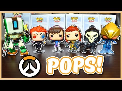 Overwatch - MY OVERWATCH FUNKO POP COLLECTION (Wave 5)