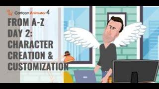 Cartoon Animation de A à Z (Jour 2: la Création de Personnage et de Personnalisation)