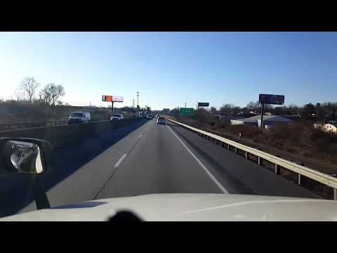 BigRigTravels LIVE! Manada Hill to Zions View, Pennsylvania Interstates 81 & 83 South-Dec. 20, 2017