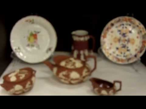 Antique China from our Antiques Mall Antique Wedgwood Tea Set and Plates