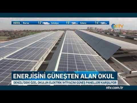 Bu okul enerjisini güneşten alıyor (Fazlasını da şehir şebekesine veriyor)