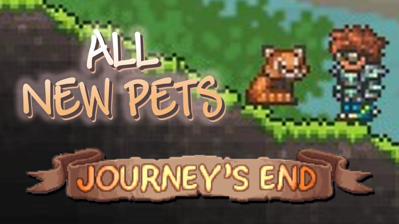 Terraria 1 4 Journey S End All New Pets Youtube