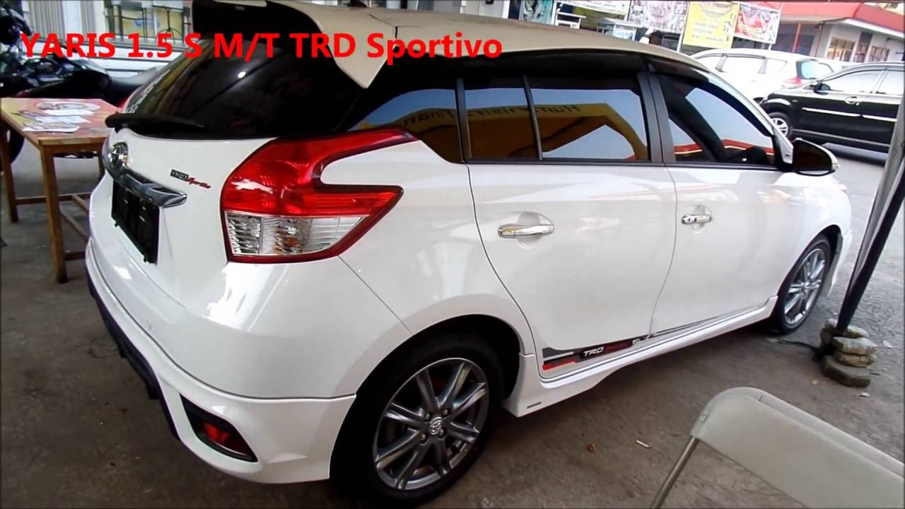 Toyota Yaris Trd Sportivo Harga Accessories Grand New Avanza 2016 Terbaru Youtube