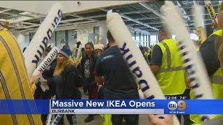 America's Biggest IKEA Opens In Burbank