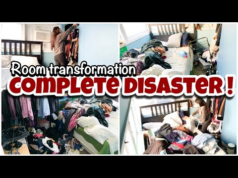 Complete Disaster Clean With Me    Extreme Cleaning Motivation    Speed Cleaning Videos